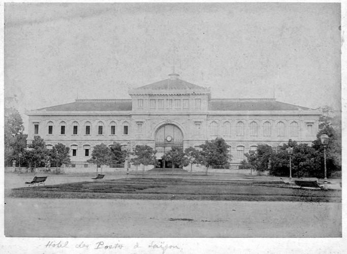 Tòa nhà Bưu điện Trung tâm Sài Gòn. Ảnh tư liệu.