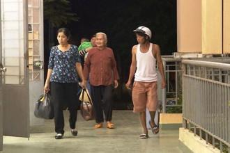 Người dân được di tản đến nơi an toàn.