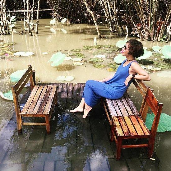 Trải nghiệm không gian thanh tịnh, yên tĩnh hiếm có giữa Sài Gòn (Ảnh: Instagram Joey Ngo)