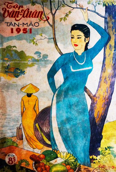 Một số bìa Báo Xuân Sài Gòn xưa (sưu tập Phạm Công Luận)