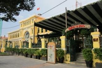 Café De La Poste - View đẹp nhất Sài Gòn