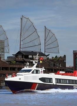 Tuyến tàu thủy cao tốc Sài Gòn- Cần Giờ - Vũng Tàu sẽ được khai trương trước Tết Nguyên đán.