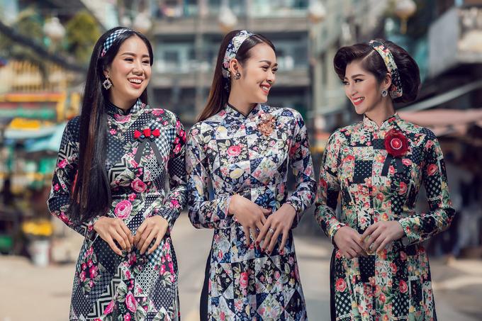Bộ ảnh được hỗ trợ thực hiện bởi người mẫu Thanh Trúc, Diệp Bảo Ngọc, Lê Phương, stylist Harry Nguyễn, nhiếp ảnh gia Chanh cùng ê kíp trang điểm.