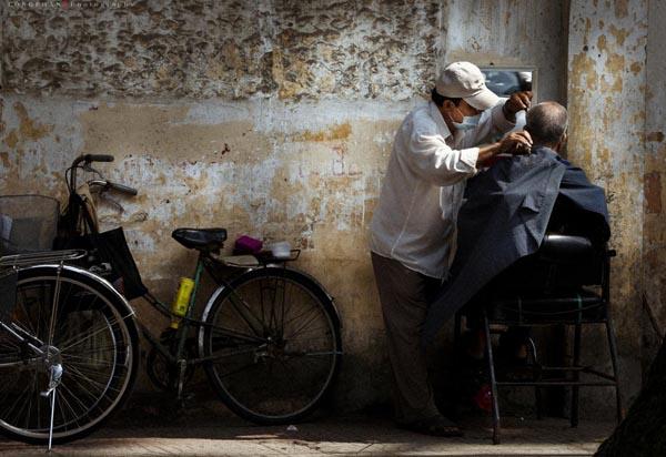 Tác phẩm Cắt tóc của tác giả Phan Tuấn Long đạt giải ba