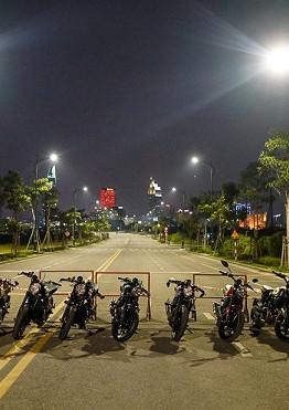Khoảng 20 chiếc Ducati Scrambler quy tụ tại Sài Gòn vào cuối tuần qua. Đây là buổi gặp gỡ giữa các tín đồ đam mê dòng xe kiểu dáng Scrambler.