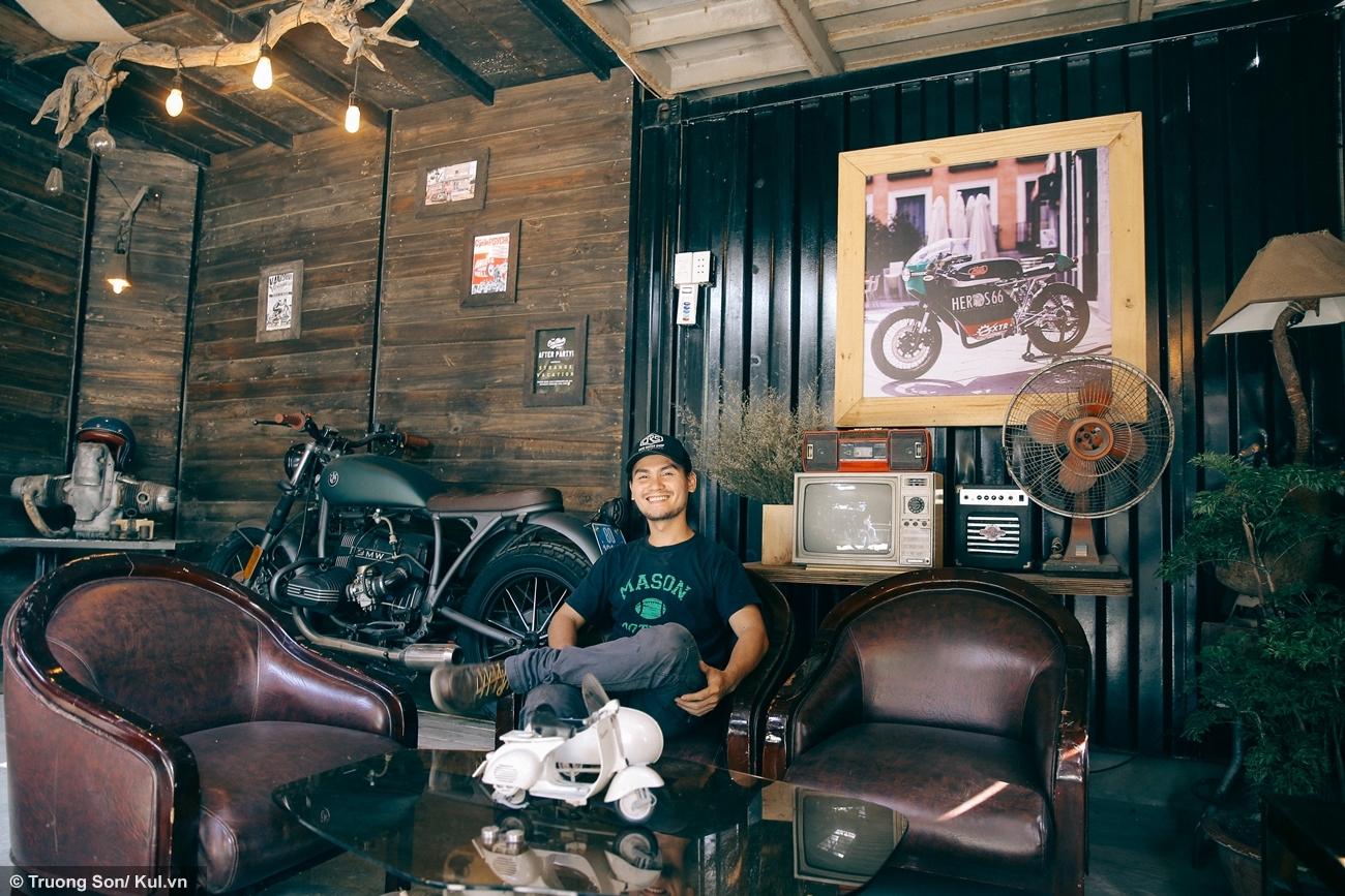 Anh Nguyễn Duy người đã dành tâm huyết và tiền bạc để tạo nên sân chơi dành cho cộng đồng chơi xe