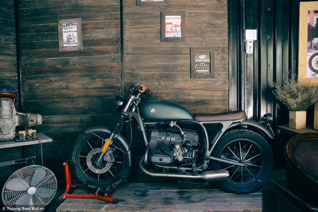 Xe motor là cảm hứng chủ đạo của Cafe Racer Shop