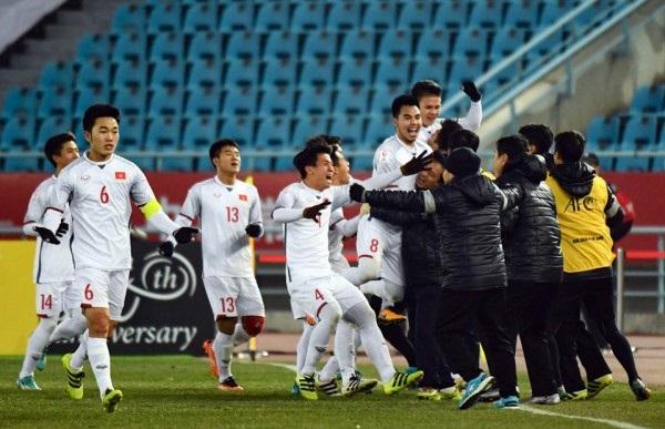 U23 Việt Nam viết kỳ tích ở U23 châu Á.