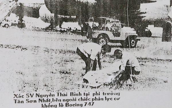 Báo chí Sài Gòn năm 1972 đăng tải nhiều bài viết xung quanh cái chết của sinh viên Nguyễn Thái Bình Ảnh tư liệu gia đình