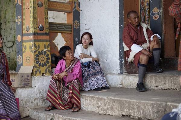 Tác giả tại Bhutan - Ảnh: NVCC