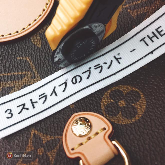Đôi NMD_R1 Primeknit được tháo rời để làm khuôn cắt Louis Vuitton Totes Bag