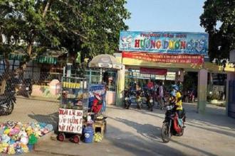 Trường mầm non Hướng Dương chi thu nhập tăng thêm cho giáo viên hơn 30 triệu đồng (ảnh: P.L)