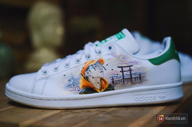 """adidas Stan Smith """"Sơn Tùng"""" - Lạc Trôi (chân trái)"""