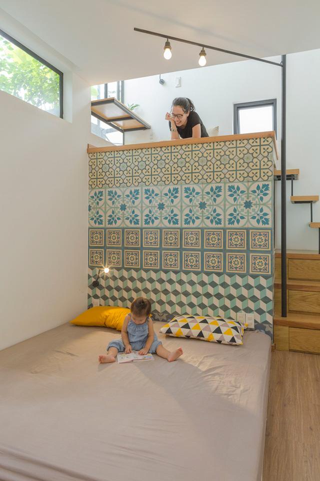 Nơi đây là không gian dành cho khách hoặc khi lớn lên nó sẽ là phòng ngủ dành riêng cho bé yêu