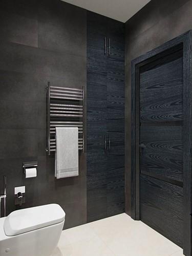 Không gian nhà tắm, nhà vệ sinh có diện tích nhỏ, được sắp xếp hợp lý, tiện nghi.