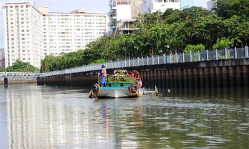 Để dòng nước được sạch sẽ, góp phần làm cho môi trường của thành phố được trong lành, ngày ngày các công nhân vẫn âm thầm làm việc