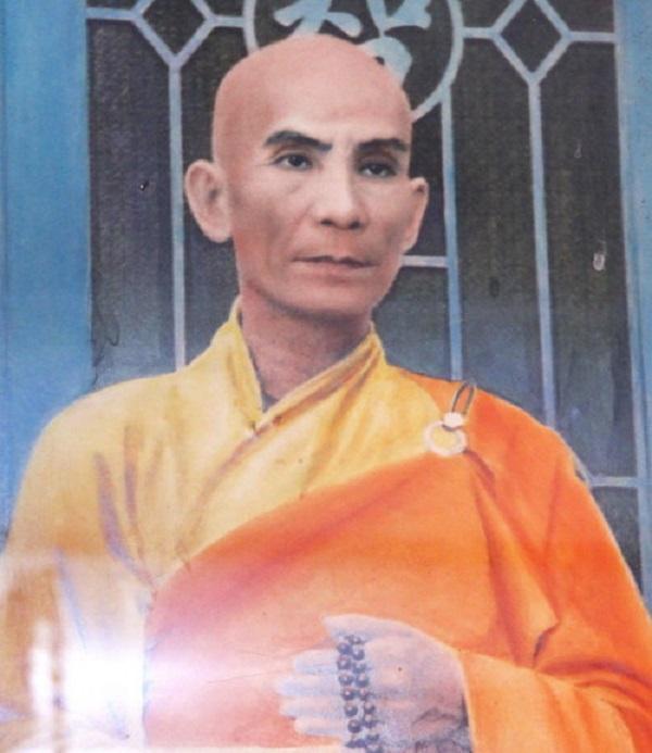 Chân dung Bồ tát Thích Quảng Đức lúc sinh thời - Ảnh tư liệu