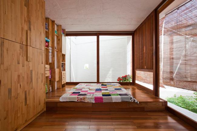 Tầng 3 là không gian riêng tư của cả gia đình.