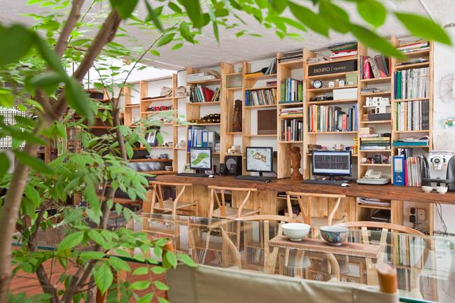 Khu vực văn phòng làm việc