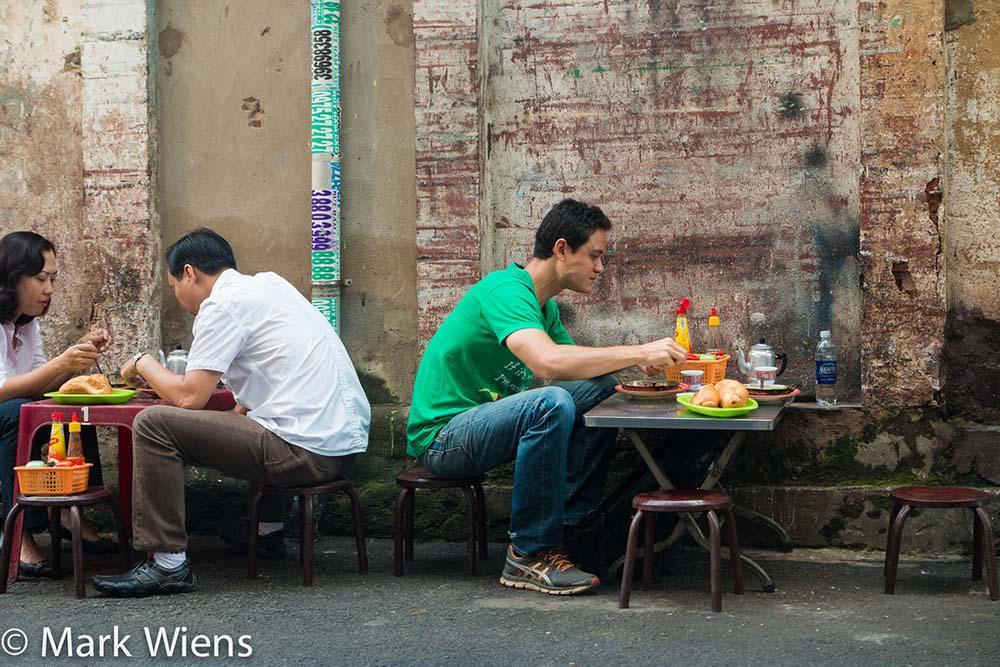 Ẩm thực đường phố ở Sài Gòn