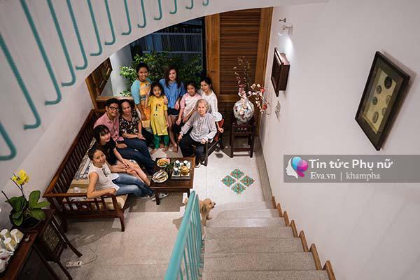 Ngôi nhà được xây dựng với mong muốn kết nối &  thắt chặt tình cảm giữa các thành viên trong gia đình