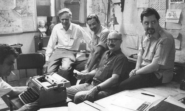 Các nhà báo quốc tế tác nghiệp tại khách sạn Caravelle Sài Gòn do Khách sạn Caravelle Saigon cung cấp. (Ảnh tư liệu)