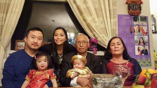 Gia đình chị Hằng đón Tết cùng nhau.