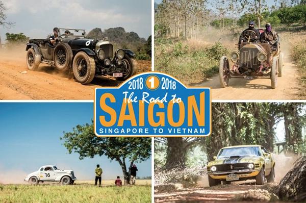 The Road to Saigon 2018 sẽ đi qua 10 tỉnh tại Việt Nam và kết thúc ở Tp.HCM.