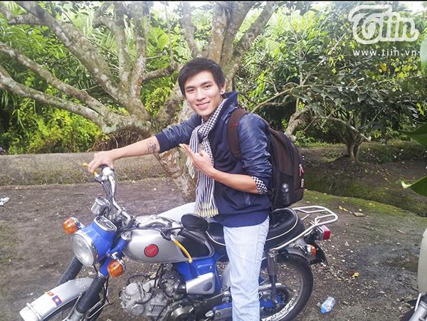 Chàng 9X điển trai Trần Quang Minh.