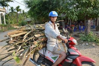 Đỗ Ba trẻ giờ là một lão nông rong ruổi khắp Sài Gòn để mưu sinh bằng nghề ve chai
