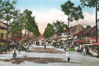 Đường phố Sài Gòn xưa.