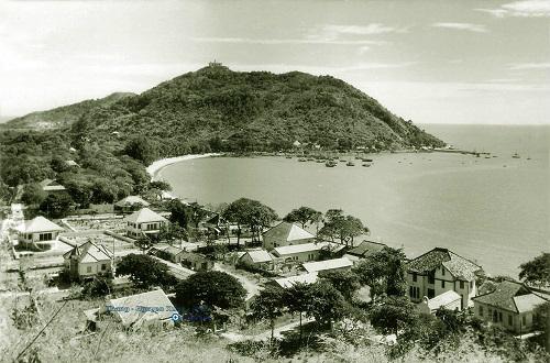 Mũi đất nơi xây dựng hải đăng Vũng Tàu