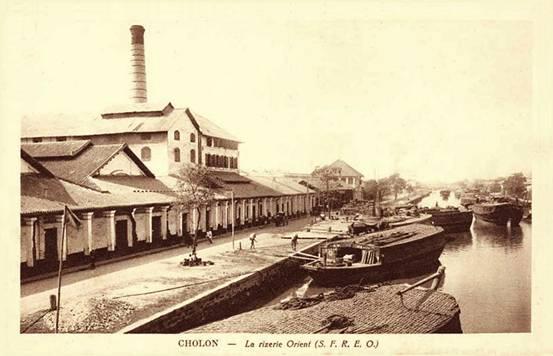 Nhà máy xay lúa Riserie de l'Orient