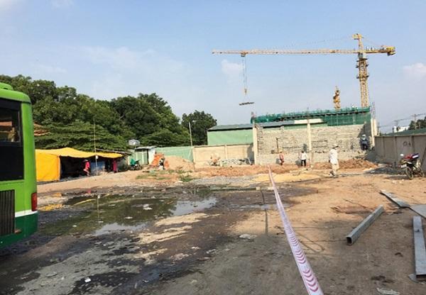 Cải tạo, sửa chữa xây dựng bến xe buýt Tân Quy huyện Củ Chi