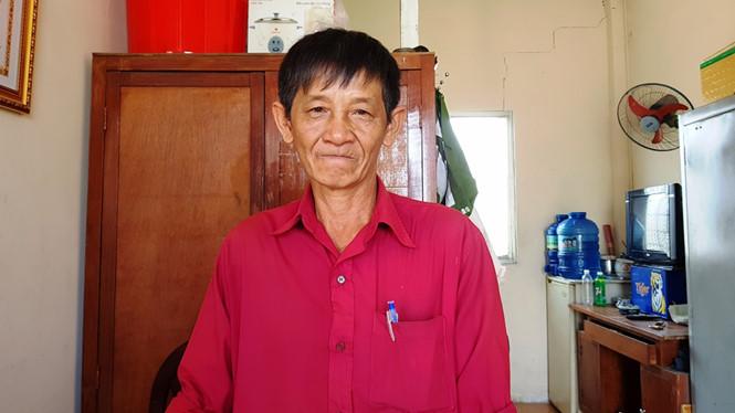 Ông Út Tèo hiện là trưởng ban bảo vệ dân phố phường An Khánh, Quận 2 ẢNH: VŨ PHƯỢNG