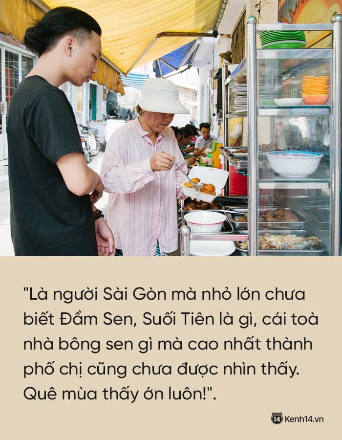 Thu nhập của quán cơm khá bấp bênh, đôi khi chị Trinh cũng lâm vào tình trạng khó khăn.