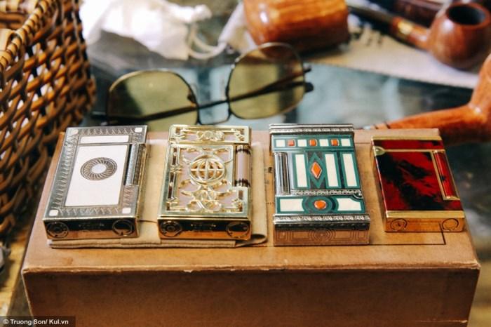 Những chiếc hộp quẹt Dupont có giá hàng chục triệu đồng của dân chơi tẩu