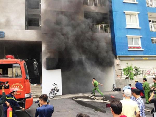 Vụ cháy chung cư Carina Plaza là hồi chuông cảnh tỉnh về công tác PCCC nhà cao tầng, nhà chung cư.