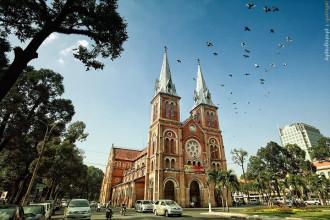 Nhà thờ Đức Bà, từ lâu đã trở thành niềm tự hào của người dân TP. Hồ Chí Minh