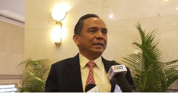 Ông Lê Hoàng Châu, Chủ tịch Hiệp hội Bất động sản TP.HCM (HoREA) - Ảnh: Huyền Trâm.
