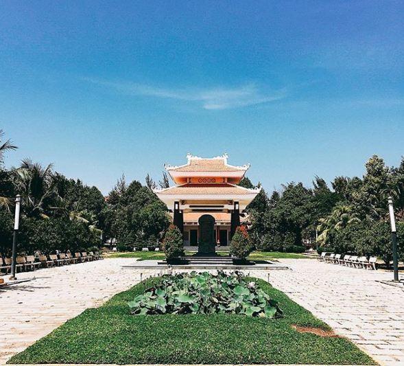Khu di tích lịch sử nữ tướng Nguyễn Thị Định, ảnh: @anzidd21252.