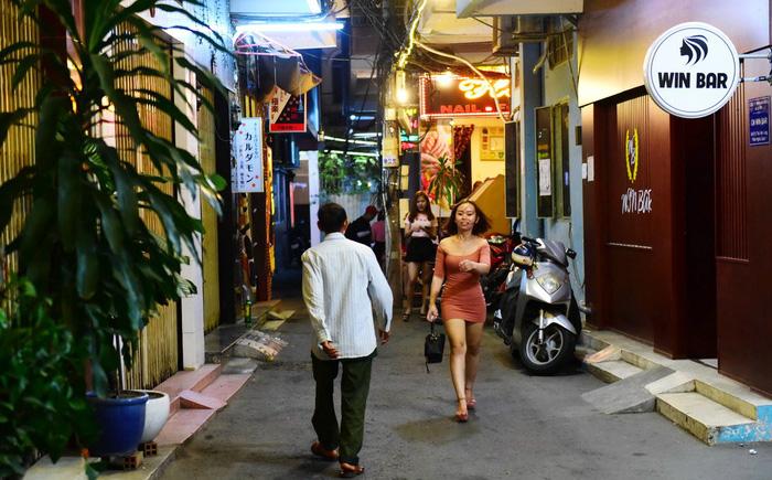 Một góc phố Nhật ở Quận 1 - Ảnh: Quang Định