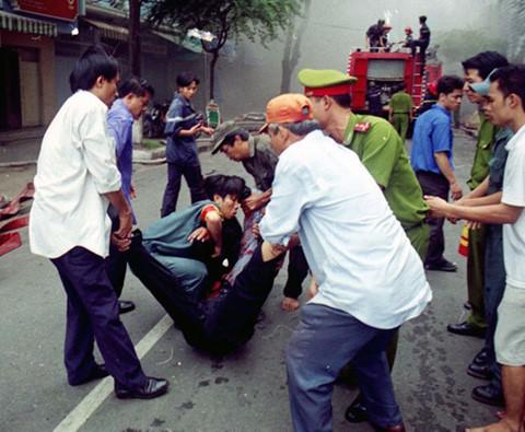 60 nạn nhân đã thiệt mạng trong vụ cháy ITC kinh hoàng. Ảnh: Thanh Niên.
