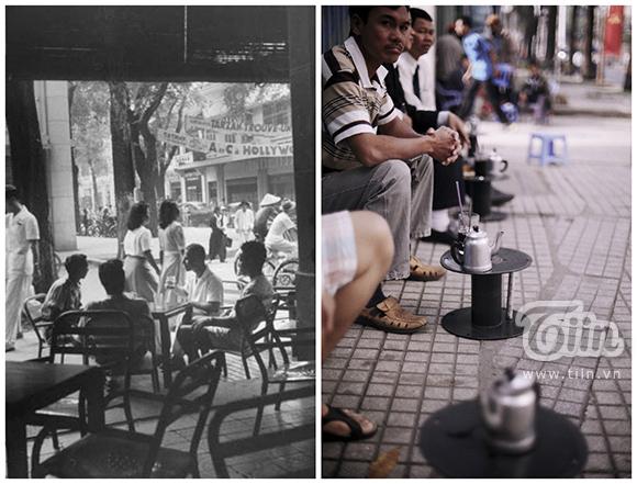 Người Sài Gòn xưa và nay đều ưa chuộng những quán cà phê dân dã