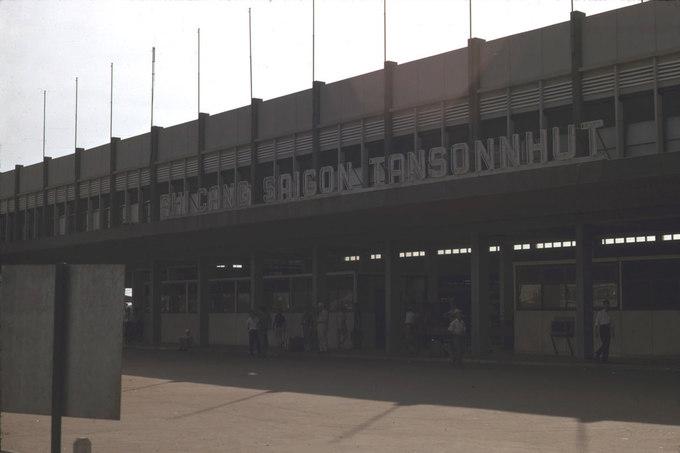 Sân bay Tân Sơn Nhất vào thập niên 60 của thế kỷ trước.