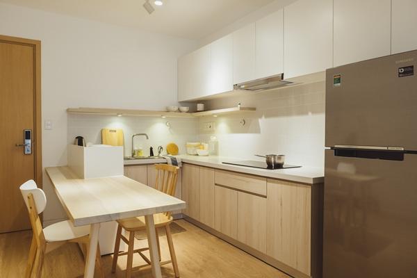 Chàng photographer chi khoảng 300 triệu đồng sắm nội thất cho căn hộ gồm hai phòng ngủ, hai nhà vệ sinh, một phòng khách, bếp và khu giặt là.