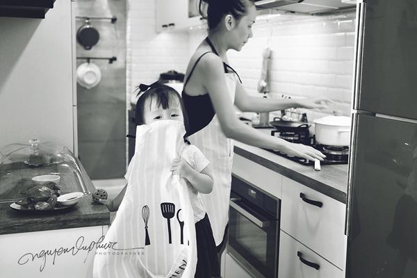Khi nào con có thể làm bếp trưởng?