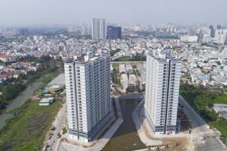 Ngoài hồ điều hòa Thiên Nga, Jamona Apartment còn được tích hợp hệ thống điện Mặt trời bởi TTC Energy – Sharp.