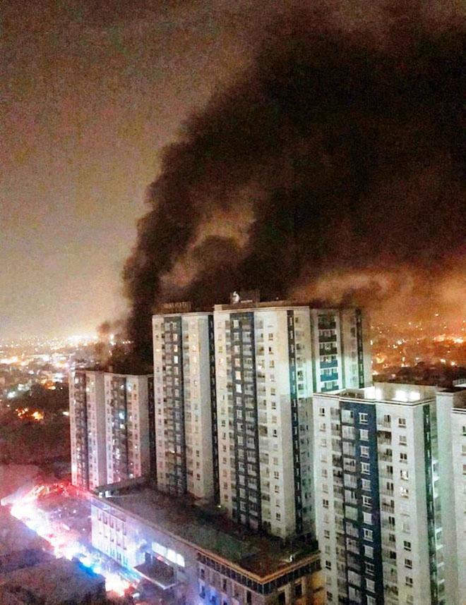 Hỏa hoạn chung cư Carina khiến 13 người tử vong