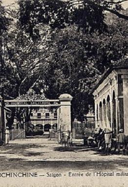 Năm 1870: Xây dựng Bệnh viện Grall (ngày nay là Bệnh viện Nhi đồng 2)